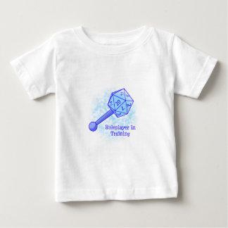 Roleplayer en azul de entrenamiento camiseta de bebé