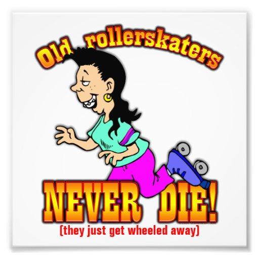 Rollerskaters Fotografia