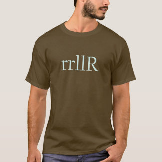 rollo de cinco movimientos camiseta