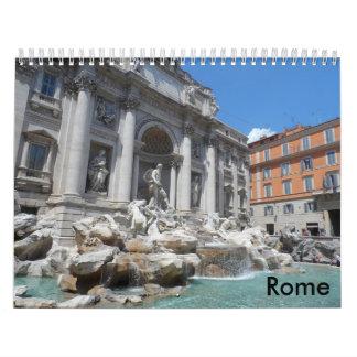 Roma 2018 calendarios de pared