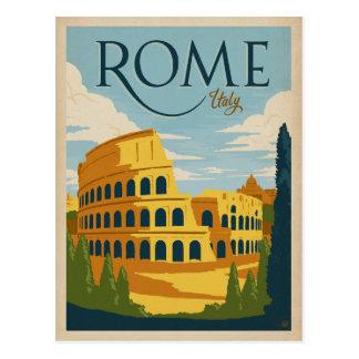 Roma, Italia Colosseum Postal