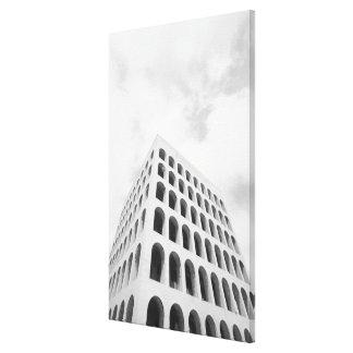 Roma Italia, EUR Palazzo del Lavoro 2 Lona Envuelta Para Galerías