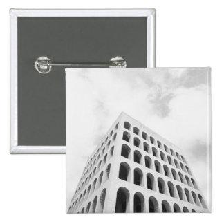 Roma Italia, EUR Palazzo del Lavoro Pin