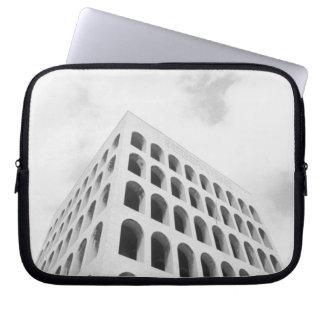 Roma Italia, EUR Palazzo del Lavoro Funda Portátil