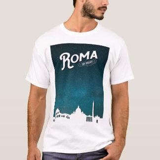 Roma por noche - camiseta