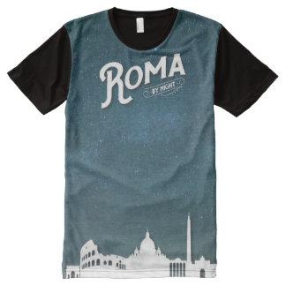 Roma - por todo la camiseta de la impresión