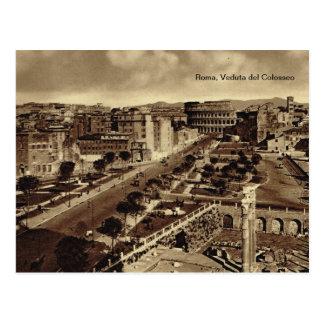 Roma, Veduta del Colosseo Postal