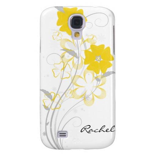 Romance de florecimiento en iPhone3G amarillo