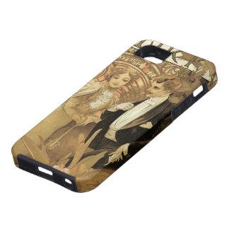 Romance del amor del vintage, arte Nouveau, Alfons iPhone 5 Case-Mate Carcasa