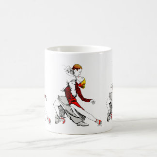 Romance del tango taza de café
