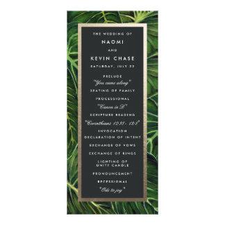Romance/programa tropicales tarjeta publicitaria