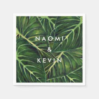 Romance tropical/servilleta servilleta de papel