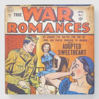 Romances verdaderos #7 de la guerra posavasos de piedra