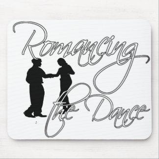 Romancing el cojín de ratón de la danza alfombrilla de ratón