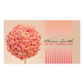 Romantic generic Business card Plantillas De Tarjetas Personales