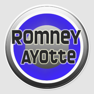 Romney Ayotte 2012 Pegatina