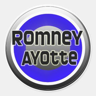 Romney Ayotte 2012 Pegatina