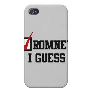 Romney conjeturo iPhone 4/4S carcasas