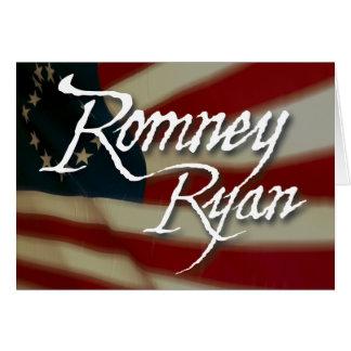 Romney Ryan, ningunas disculpas Tarjeta De Felicitación