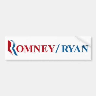 Romney y Ryan 2012 Pegatina Para Coche