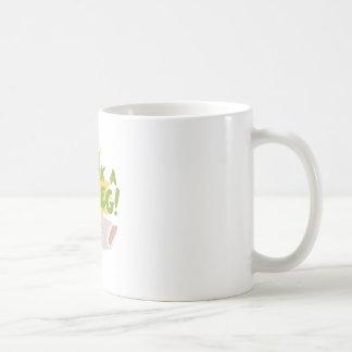 Rompa una pierna taza de café