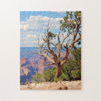 Rompecabezas 11x17 del árbol del Gran Cañón