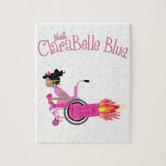 Rompecabezas azul de ClaraBelle (Rocketchair)