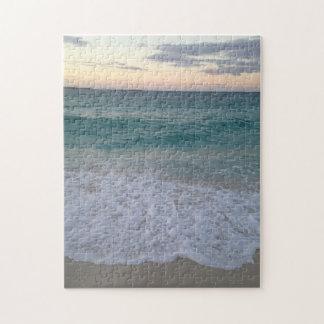 Rompecabezas bahamés de la puesta del sol
