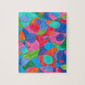 Rompecabezas colorido del arte de la burbuja
