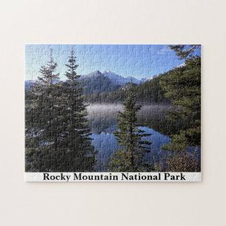 Rompecabezas de Colorado del Parque Nacional de