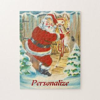 Rompecabezas de encargo del navidad