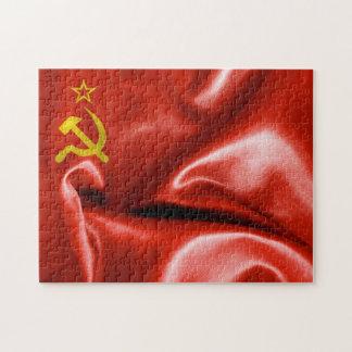 Rompecabezas de la bandera de Unión Soviética