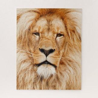 Rompecabezas de la cara del león