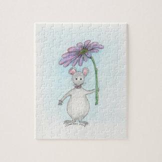 Rompecabezas de la flor del ratón de Molly