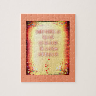 rompecabezas de la foto 8x10 con la caja de regalo