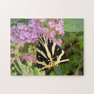 Rompecabezas de la foto de la mariposa del tigre