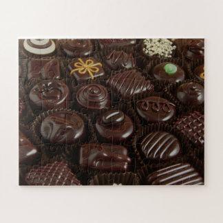 Rompecabezas de la foto de los caramelos de