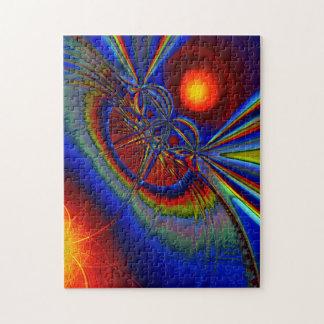 Rompecabezas de la foto del fractal