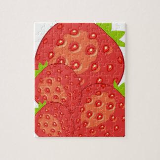 Rompecabezas de las fresas