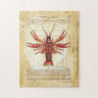 Rompecabezas de los cangrejos de Vitruvian