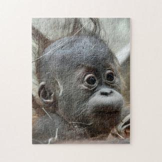 Rompecabezas de mono del bebé