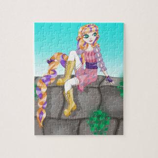 Rompecabezas de Rapunzel