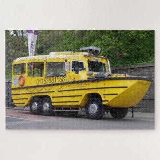 Rompecabezas del barco del autobús