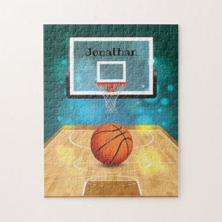 Rompecabezas del diseño del baloncesto