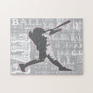 Rompecabezas del diseño del béisbol