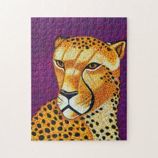 Rompecabezas del guepardo
