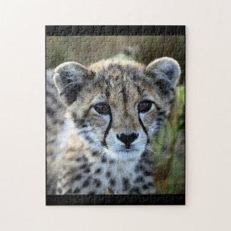 Rompecabezas del guepardo del bebé