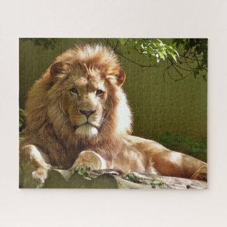 Rompecabezas del león