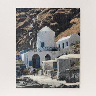 Rompecabezas del molino de viento de Grecia
