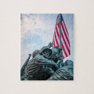 Rompecabezas del monumento de Iwo Jima